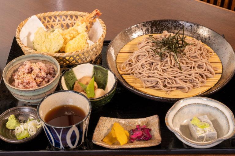 天ぷらざる蕎麦御膳